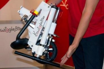 Kwiggle Bike.. จักรยานที่เล็กที่สุดในโลก สะดวกพกพา