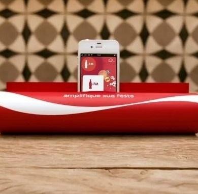 เลียนแบบโฆษณา Coca-Cola FM radio ..ทำลำโพง Smart Phone จากนิตยสาร 16 - COKE