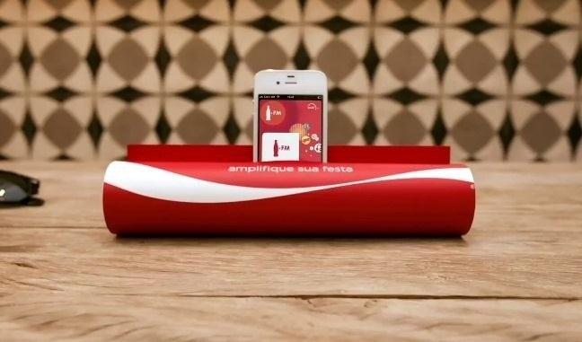เลียนแบบโฆษณา Coca-Cola FM radio ..ทำลำโพง Smart Phone จากนิตยสาร 14 - iPhone