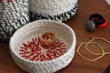 DIY : ที่ใส่ของทำจากเชือก..งานฝีมืออาร์ตๆ ที่ใครๆก็ทำได้ 13 - DIY