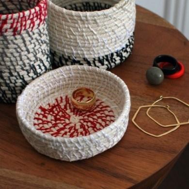 DIY : ที่ใส่ของทำจากเชือก..งานฝีมืออาร์ตๆ ที่ใครๆก็ทำได้ 21 - DIY