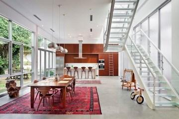 บ้านเพดานสูงสไตล์ industrial  ปรับปรุงจากคลังสินค้าเก่า เปิดโล่งใกล้ชิดกับธรรมชาติ 10 - Industrial style