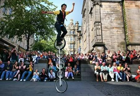 Edinburgh Festival 450x309 Edinburgh Festival Fringe เทศกาลศิลปะกลางแจ้งที่ยิ่งใหญ่ที่สุดในโลก
