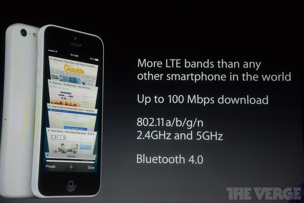 LB 8063 เปิดตัวรุ่นเล็ก iPhone 5c อย่างเป็นทางการ
