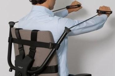 นั่งทำงานในออฟฟิศ ก็ออกกำลังกายได้ ด้วย Workout Office Chair! 31 - Office