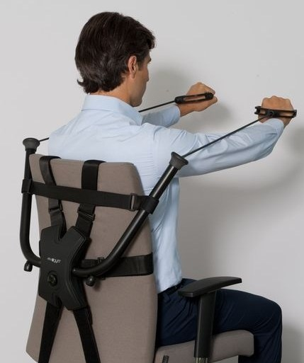 นั่งทำงานในออฟฟิศ ก็ออกกำลังกายได้ ด้วย Workout Office Chair! 28 - Office