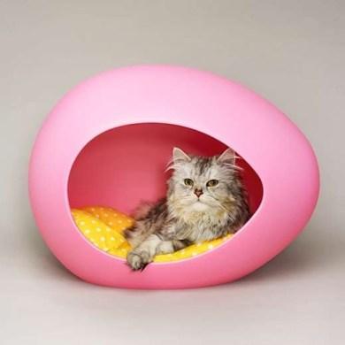ที่นอนรูปไข่ ดูมีสไตล์ สำหรับสัตว์เลี้ยงแสนรัก 14 -