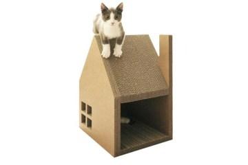 บ้านแมวจากกระดาษกล่อง..ให้ข่วน ลับเล็บกันเต็มที่เลย 18 - cardboard
