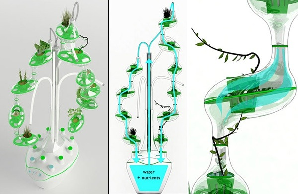 PlanTree – ระบบปลูกผักแนวตั้งด้วยน้ำ สำหรับคนเมือง 13 - hydroponic