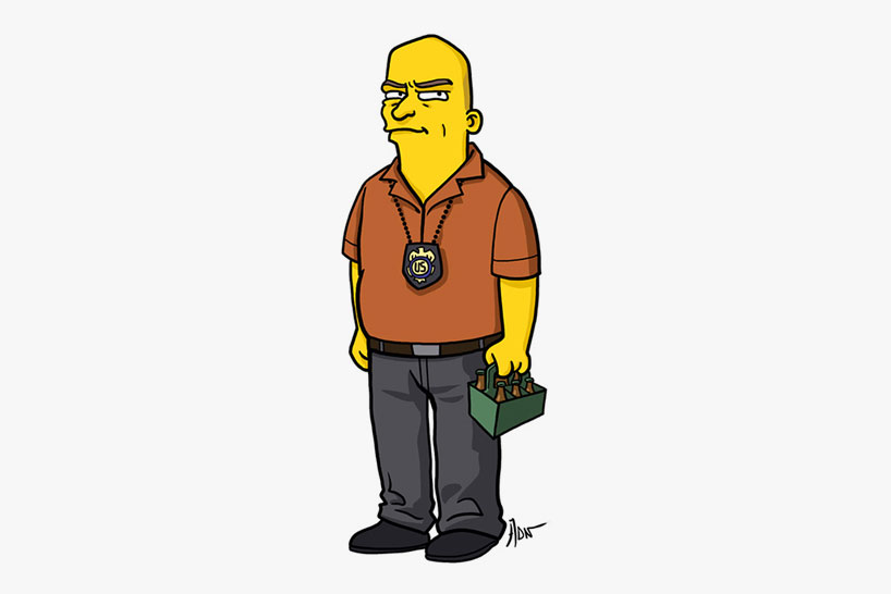 breaking bad simpsons db04 Breaking bad characters illustrated like the simpsons