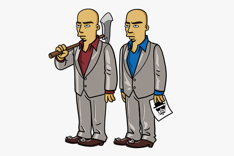 breaking bad simpsons db11 Breaking bad characters illustrated like the simpsons