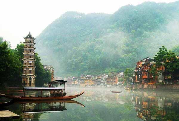 fenghuang5 Fenghuang Ancient Town เมืองโบราณเฟิ่งหวง