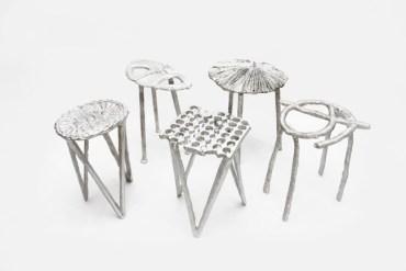 เก้าอี้จากขยะ..ผลิตจากกระป๋องน้ำอัดลม ใช้เชื้อเพลิงจากน้ำมันพืชใช้แล้ว แม่พิมพ์จากกองทรายข้างถนน 18 - รีไซเคิล