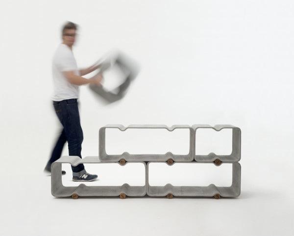 BASSO ชั้นวางของแนวมินิมอล ทำจากไฟเบอร์ซีเมนต์ เก๋และเป็นมิตรกับสิ่งแวดล้อม 13 - minimalist