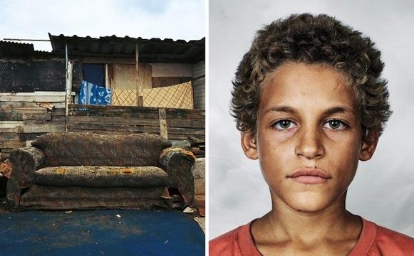 ภาพถ่ายเด็กๆทั่วโลก และที่ที่พวกเขาหลับนอน 13 -