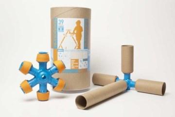 Toobalink ของเล่นที่เปลี่ยนขยะ เป็นสิ่งเติมเต็มจินตนาการให้เด็กๆ 10 - cardboard tubes