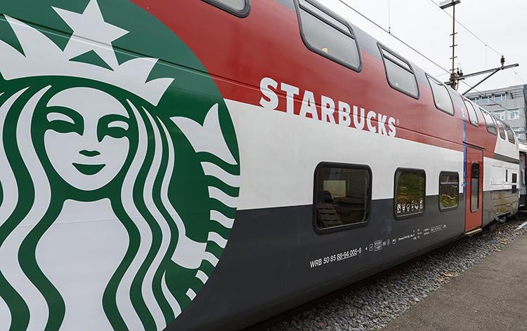 3021630 slide swiss train 4 The train is hiding a Starbucks store inside