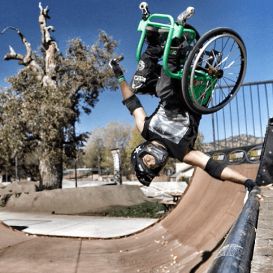 When life gives you a wheelchair, find a skatepark 15 - extreme