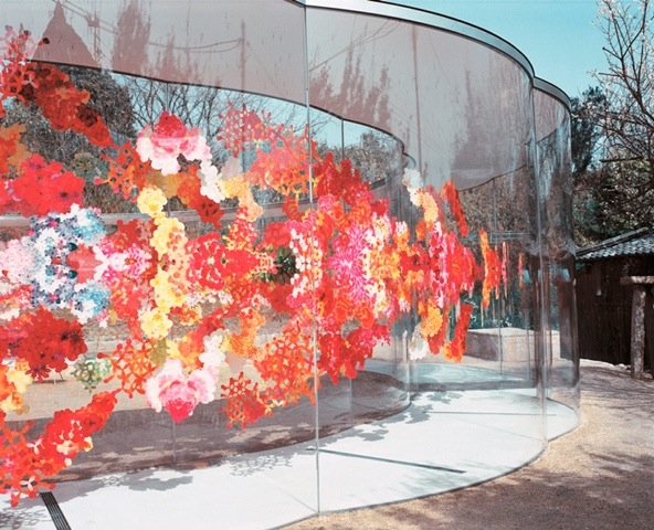 25561226 193456 A ART HOUSE จัดสถานที่แสดงศิลปะหมู่บ้านแบบดั่งเดิมของญี่ปุ่น
