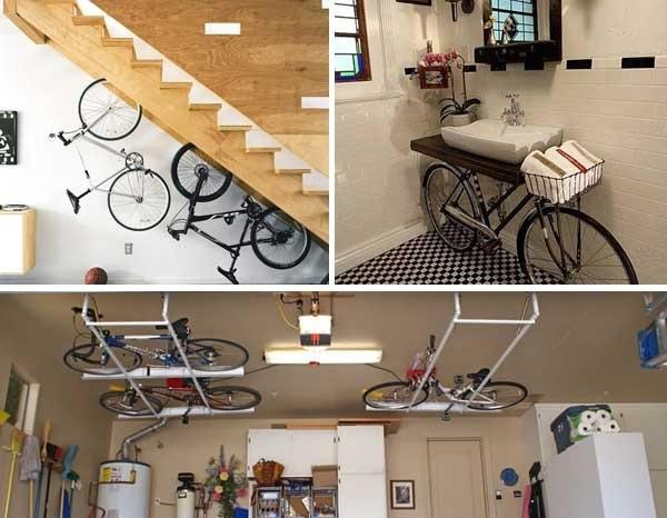 จะเก็บจักรยานอย่างไรสำหรับบ้านพื้นที่จำกัด? 15 - LIVING