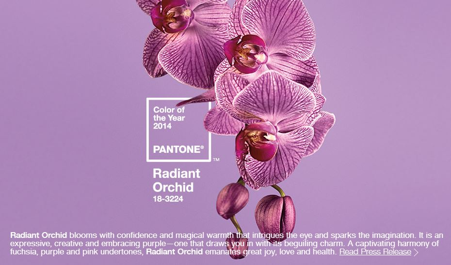 Capture Pantone color of the year 2014