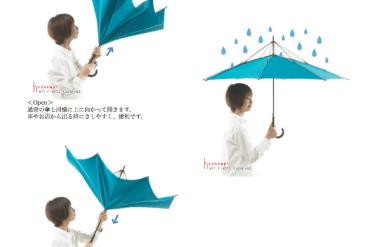 Clever Umbrella : UnBrella 18 - umbrella