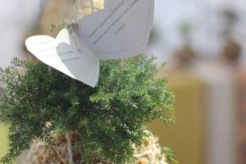 DIY string garden..สวนแขวน จากกระถางเชือก และไหมพรม