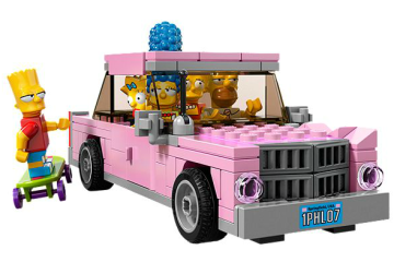The Simpsons LEGO Set  2 - EXCLUSIVES