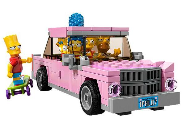 The Simpsons LEGO Set  13 - EXCLUSIVE