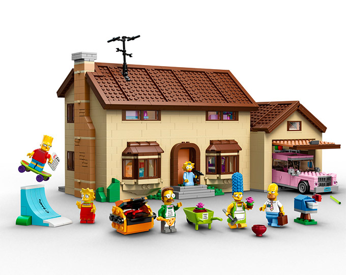 The Simpsons LEGO Set Is Official The Simpsons LEGO Set
