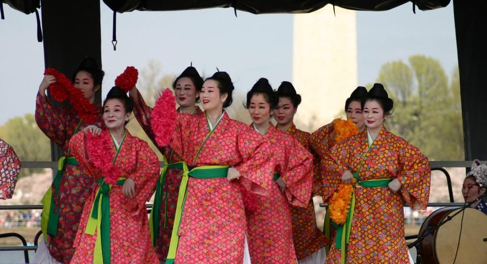 Cherry Blossom Japanese Act เทศกาลซากุระ National Cherry Blossom Festival