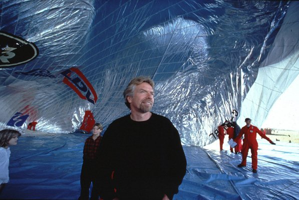 richard balloon challenge 10 เทคนิคเพื่อความสำเร็จ จาก Richard Branson เจ้าของอาณาจักร Virgin