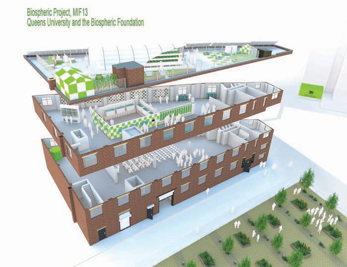 wpid queens university urban agriculture laboratory 4 ตัวอย่างฟาร์มเพาะปลูกในเมือง..แนวโน้มของสถาปัตยกรรมและการวางแผนเมืองในอนาคต
