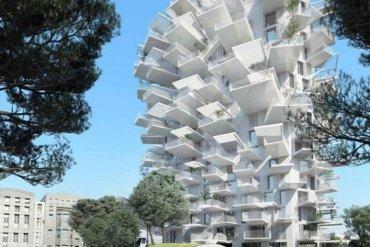 Arbre Blanc..อาคารที่เสมือนต้นไม้สีขาว แตกกิ่งก้านออกรับสายลม แสงแดด 13 - คอนโด