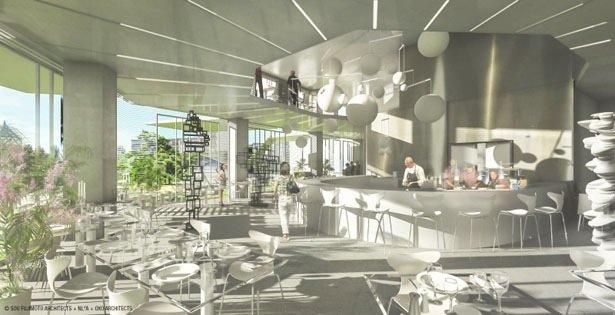 25570410 082943 Arbre Blanc..อาคารที่เสมือนต้นไม้สีขาว แตกกิ่งก้านออกรับสายลม แสงแดด