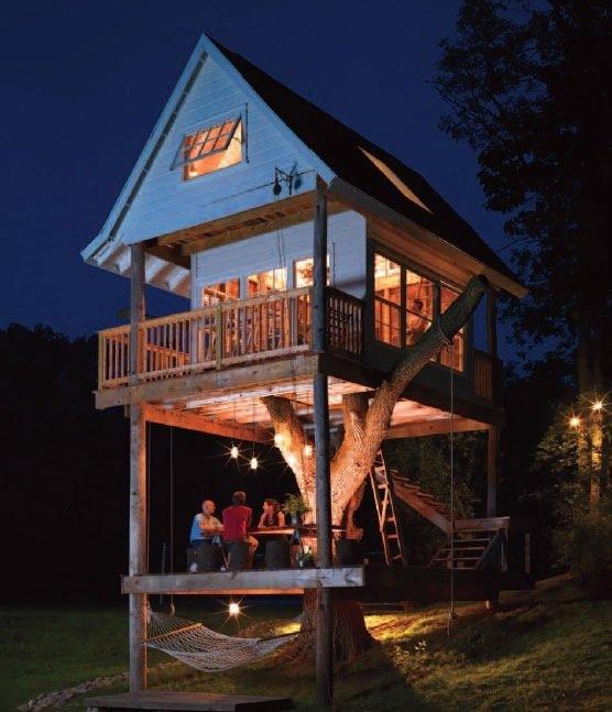 บ้านต้นไม้..ที่เกิดจากความประทับใจในวัยเด็ก และสร้างขึ้นด้วยพลังแห่งความรัก 13 - treehouse