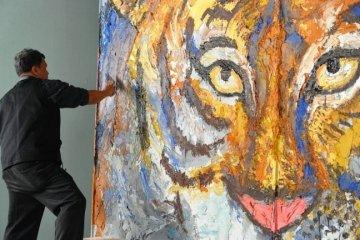 วาดภาพด้วยปูน ถ่ายทอดจินตนาการณ์และอารมณ์แบบไร้ขีดจำกัด  โดย สาธิต ทิมวัฒนบรรเทิง 2 - Expressionism