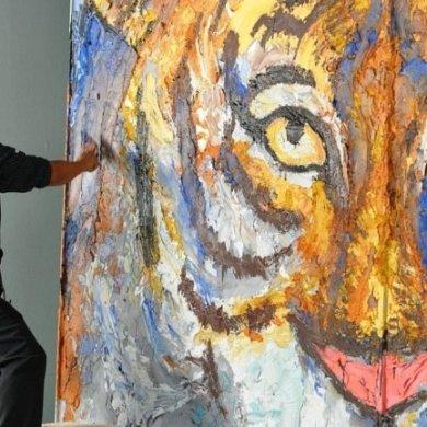 วาดภาพด้วยปูน ถ่ายทอดจินตนาการณ์และอารมณ์แบบไร้ขีดจำกัด  โดย สาธิต ทิมวัฒนบรรเทิง 14 - Expressionism