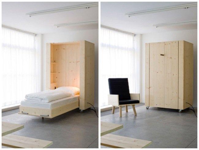 25570418 204924 เตียงกล่องติดล้อ เปิดเมื่อต้องการใช้ ประหยัดพื้นที่