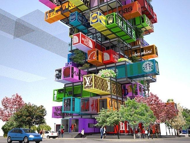 25570422 192453 แนวคิดใช้คอนเทนเนอร์สร้างโรงแรม..สลับสับเปลี่ยนตู้ได้เหมือนต่อของเล่น