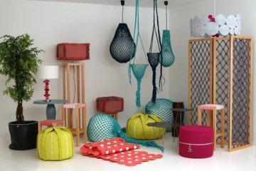ตกแต่งบ้านด้วยงานถักทอ และผ้า สีสันสดใส ดูเป็นกันเอง และอบอุ่น 6 - งานถักทอ