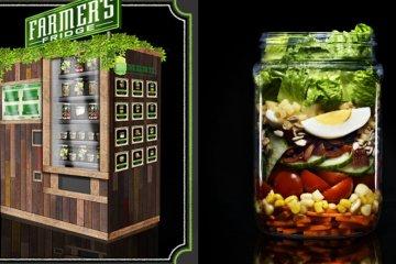 Farmer's Fridge Vending Machine ตู้ขายอาหารเพื่อสุขภาพอัตโนมัติ