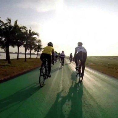 สนามบินสุวรรณภูมิ เปิดถนนสีเขียว..ทางสำหรับจักรยานเท่านั้น รถห้ามวิ่ง 14 - cycling path