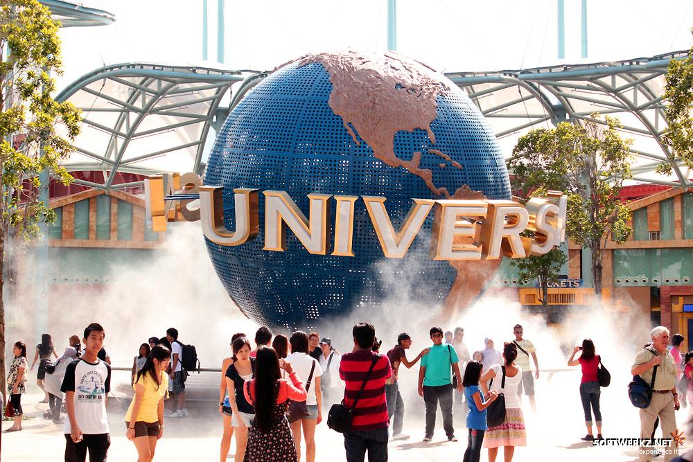 universal studios เที่ยวสวนสนุก Sentosa ประเทศสิงคโปร์