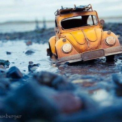 ไอเดียถ่ายภาพ ท่องโลกกว้างกับรถคลาสสิคคันจิ๋ว 34 - idea