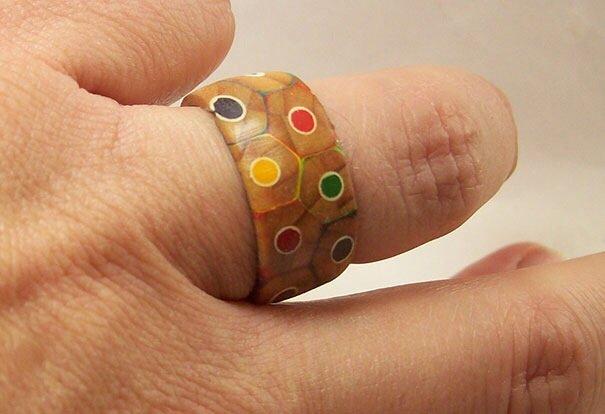20140516 172354 DIY เปลี่ยนดินสอสี เป็นแหวนสายรุ้ง..สวยงาม