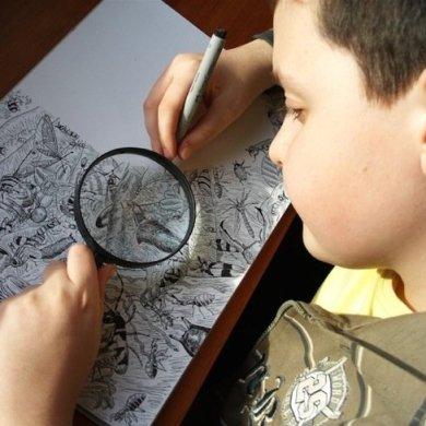 ศิลปินเด็กอายุ11ปี สร้างผลงานชีวิตสัตว์ที่เต็มไปด้วยรายละเอียด 16 - wildlife
