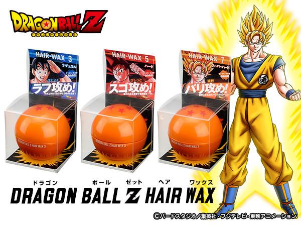 Dragon Ball Z Hair wax แว๊กส์แต่งผมให้ตั้งอยู่ทรงเป็นซุปเปอร์ไชย่า 13 - Dragon Ball Z