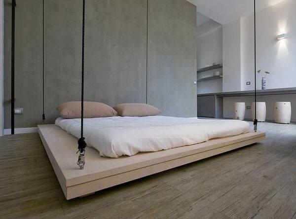เตียงประหยัดพื้นที่..เลื่อนเก็บบนเพดานเมื่อไม่ใช้ 13 - เตียง