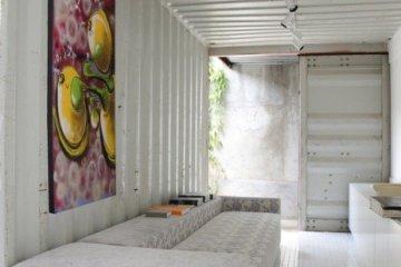 Container Project ..บ้านแบบอาร์ตๆจากตู้คอนเทนเนอร์ 10 - Graffiti